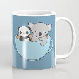 Kawaii Cute Koala and Panda Coffee Mug