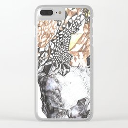untitled (from the stone maiden series) Clear iPhone Case