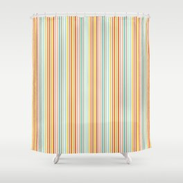 Striped Up Shower Curtain