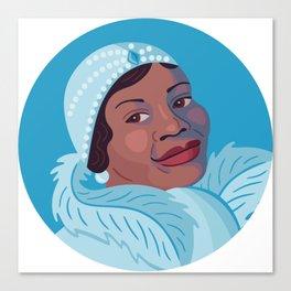 Queer Portrait - Bessie Smith Canvas Print