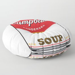 Campbells Soup Floor Pillow