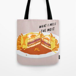 What I miss the most: Francesinha Tote Bag