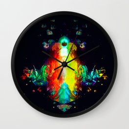 Questions, Answers, & Ideas Wall Clock
