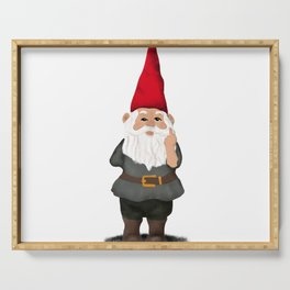 Hangin with my Gnomies - FU Serving Tray