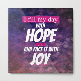 Hope and Joy Metal Print