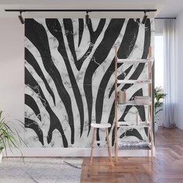 Marble zebra pattern new modern stripes design Wall Mural