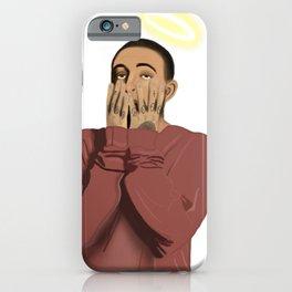 Mac Miller Memorial Illustration iPhone Case