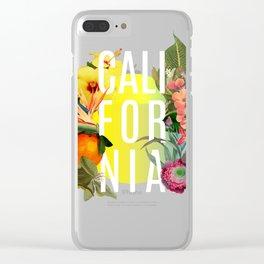 California Clear iPhone Case