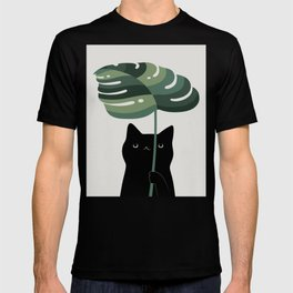 Cat and Plant 16 T-shirt