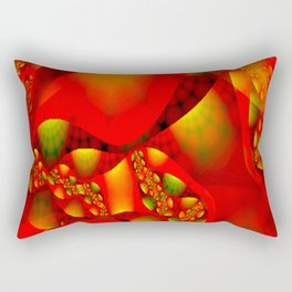 Abstractly glamour Rectangular Pillow