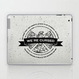we´re cursed Laptop & iPad Skin