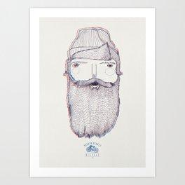 BROKEN HEARTS BICYCLE CLUB Art Print