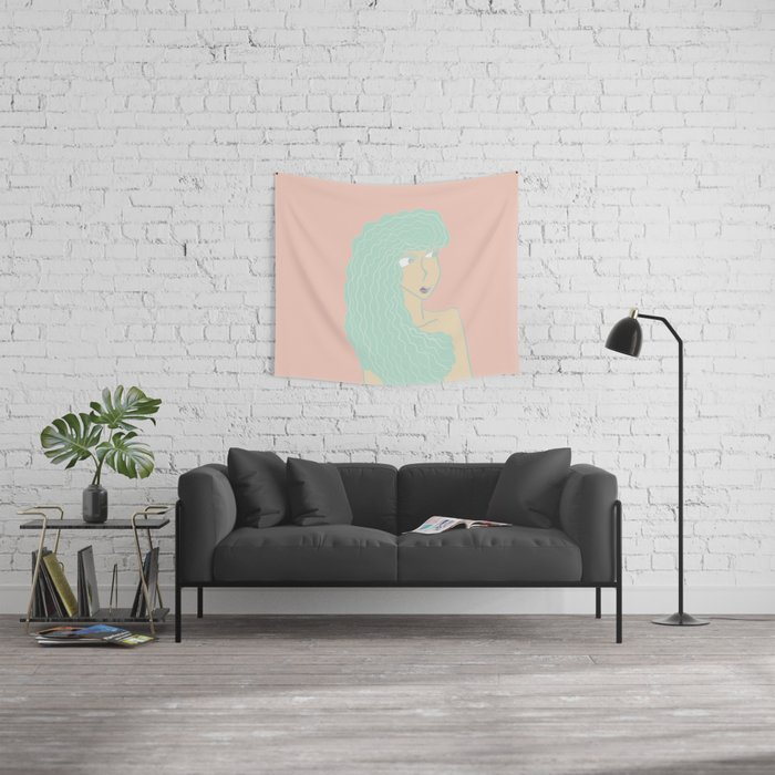Gal Wall Tapestry