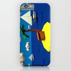 Low-Poly Treasure Island iPhone 6s Slim Case