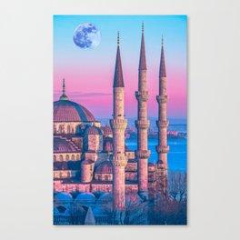 Sultanahmet, Istanbul Turkey 3 Canvas Print