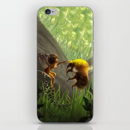 Faerie and Bee iPhone Skin