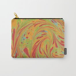 Marbled Pattern IV Carry-All Pouch