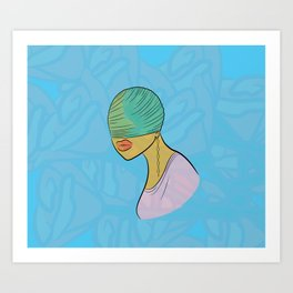 Electric Griot: Blind Art Print