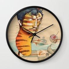 EASY, TIGER Wall Clock