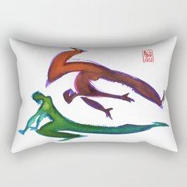 Capoeira 252 Rectangular Pillow