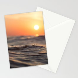 Sunset Wave Stationery Cards