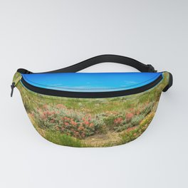 Wild West Painted Plains - Wyoming Fanny Pack