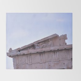Parthenon Pediment Throw Blanket