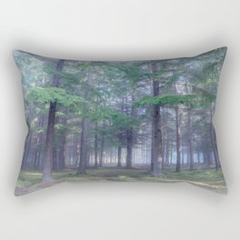 Forest in North Kessock, The Highlands, Scotland Rectangular Pillow