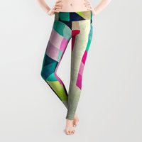 spires Leggings featuring Cyrvynne xyx by Spires