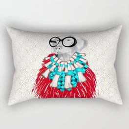 THEY CALL ME MS IRIS WOOFEL Rectangular Pillow
