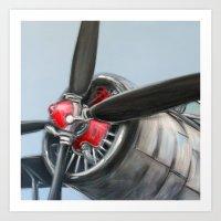 airplane Art Prints featuring Airplane by Renato Verzaro