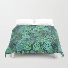 Tropical plantation Duvet Cover