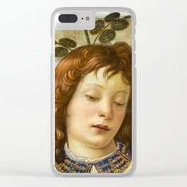 Sandro Botticelli - Angels 4. detail Clear iPhone Case
