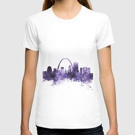 St Louis Missouri Skyline T-shirt