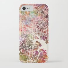 Baltimore map iPhone 7 Slim Case
