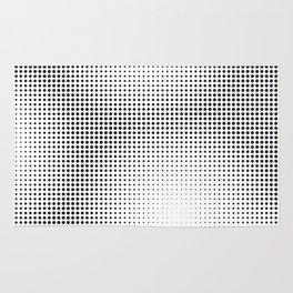 Full Configuration Black Raster - Optical game 13 Rug