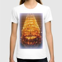 chandelier T-shirts featuring Venetian Chandelier  by Chris' Landscape Images & Designs