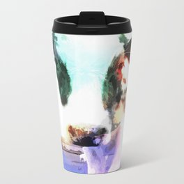 cow Metal Travel Mug