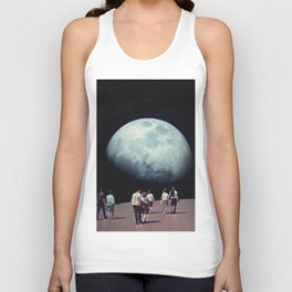 Way Back Home Unisex Tank Top