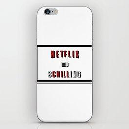 Netflix And Schilling iPhone Skin
