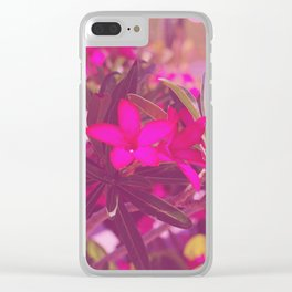 Vibrant as a Desert Rose Clear iPhone Case
