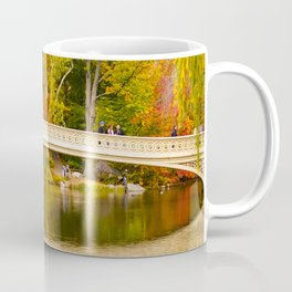 Bow Bridge at Central Park Coffee Mug