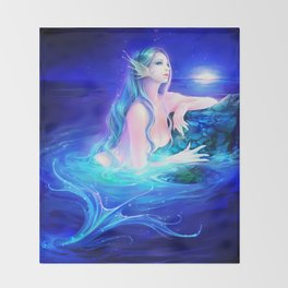 Siren Throw Blanket