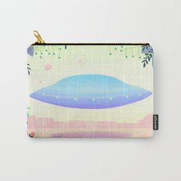 Floral UFO 1 Carry-All Pouch