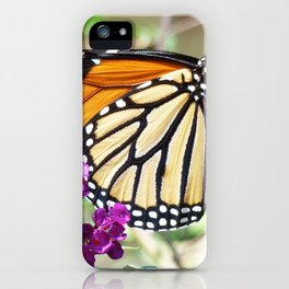 Summer Monarch iPhone Case