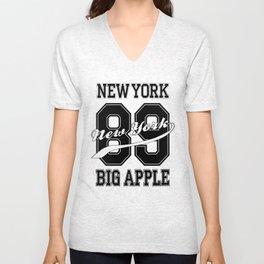 Big Apple 89 New York Unisex V-Neck