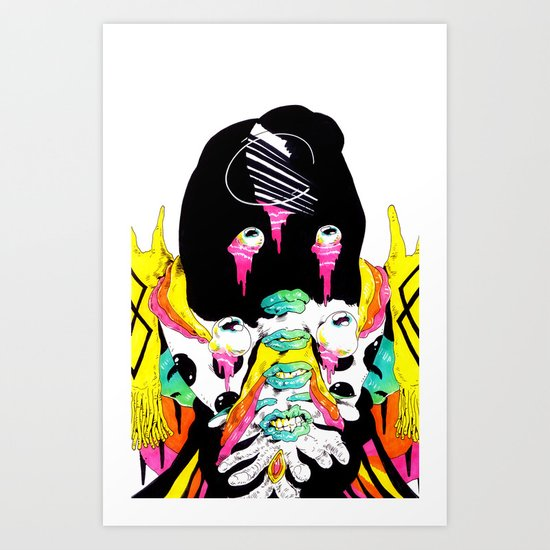 armor Art Print