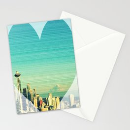 Seattle Love Stationery Cards
