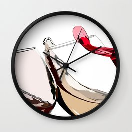 A Glass a Day... Wall Clock