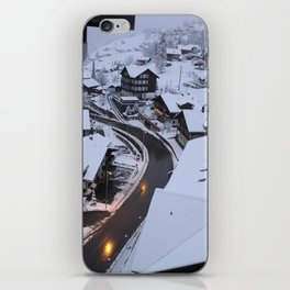 Wintery Grindelwald iPhone Skin